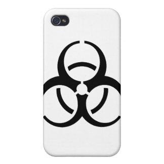 Bio Hazard Icon iPhone 4 Covers