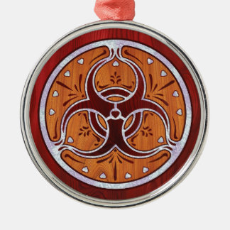 Bio Hazard Inlay II Christmas Ornaments