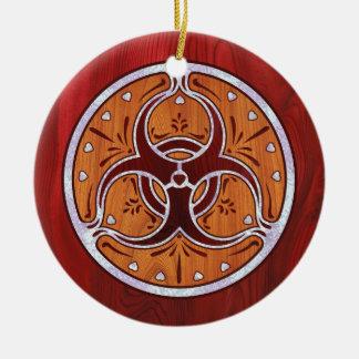 Bio Hazard Inlay II Christmas Ornament