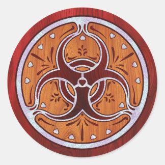 Bio Hazard Inlay II Sticker