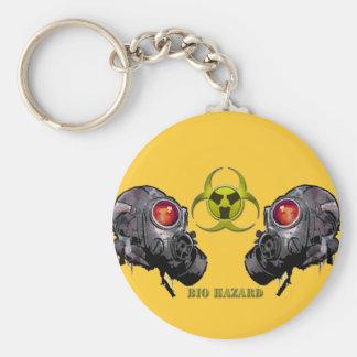 Bio hazard keychain