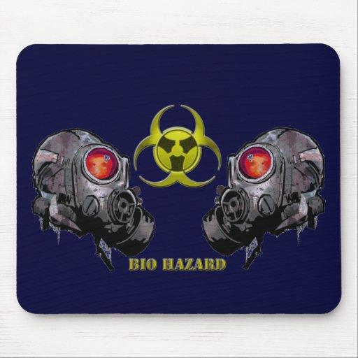 Bio hazard mouse mat