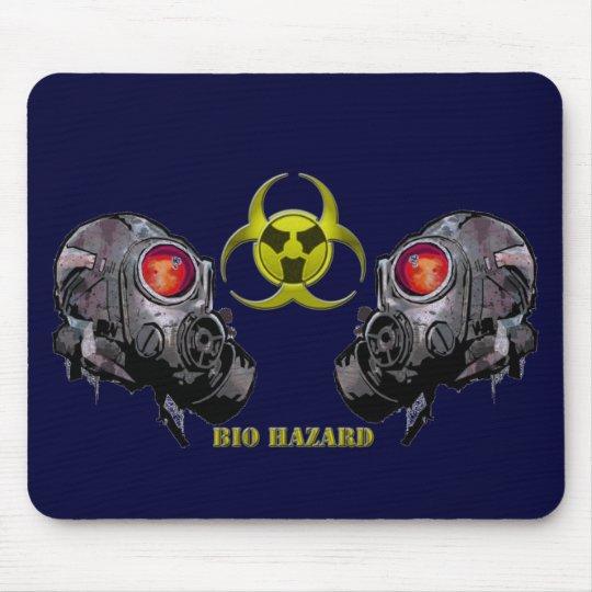 Bio hazard mouse pad