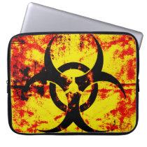 Bio Hazard Neoprene Laptop Sleeve
