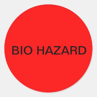 BIO HAZARD Stickers