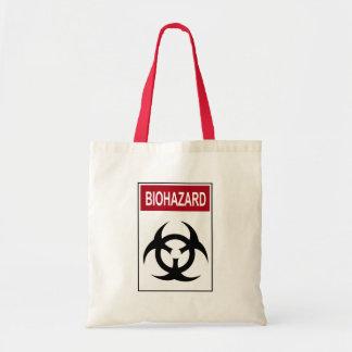 Bio Hazard Vintage Sign Tote Bag