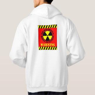 Bio Hazardous Bodily Functions Warning Hooded Pullover