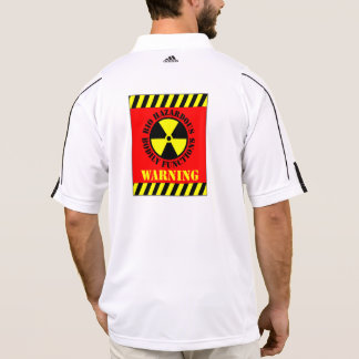 Bio Hazardous Bodily Functions Warning Polo Shirt