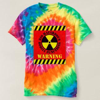 Bio Hazardous Bodily Functions Warning Shirt