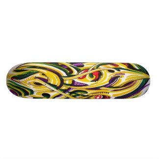 Bio mechanical skateboard