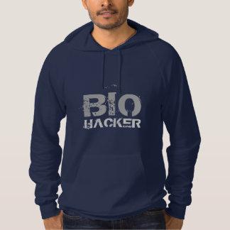 Bio pirata informático pulóver con capucha