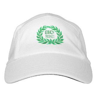 Bio Product Green Watercolor Farm Fresh Food Hat