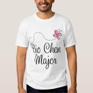 Bio regalo del comandante camiseta de Chem de la Polera