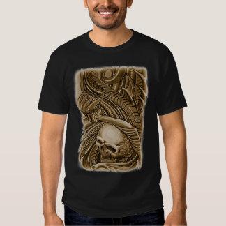 bio skull tee shirt