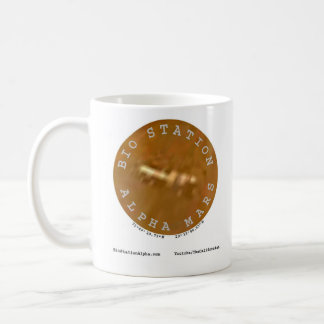 Bio Station Alpha on Mars Coffee Mug