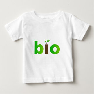 Bio text symbol of eco friendly concept baby T-Shirt