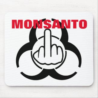 Bio tirón del peligro de Mousepad Monsanto