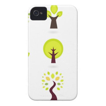 Professional Business Bio trees original drawing : Tshirts iPhone 4 Case-Mate Case