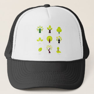 Bio trees original drawing : Tshirts Trucker Hat