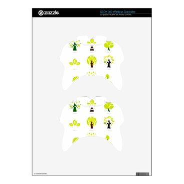 Professional Business Bio trees original drawing : Tshirts Xbox 360 Controller Decal