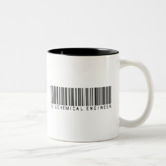 Biochemical Engineer Bar Code Mugs