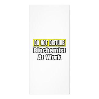 Biochemist At Work Rack Card Design