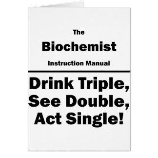 biochemist card