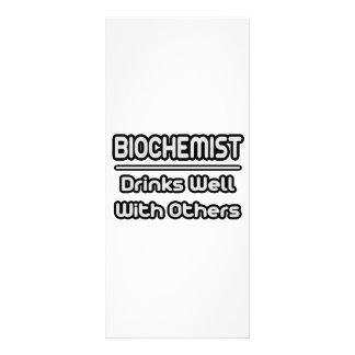 Biochemist...Drinks Well With Others Custom Rack Card
