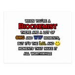 Biochemist ... OMG WTF LOL Postcard