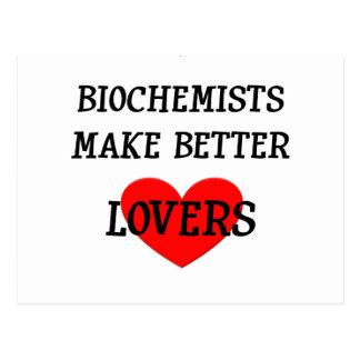 Biochemists Make Better Lovers Postcard