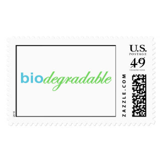 Biodegradeable Stamps