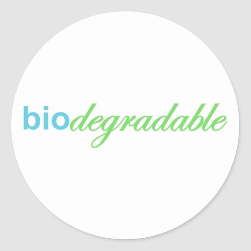 Biodegradeable Stickers