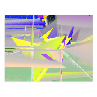 BioDesign #1 TRANSSPECIES ART Postcard