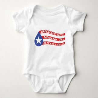 Biodiesel Made In USA Flag Baby Bodysuit