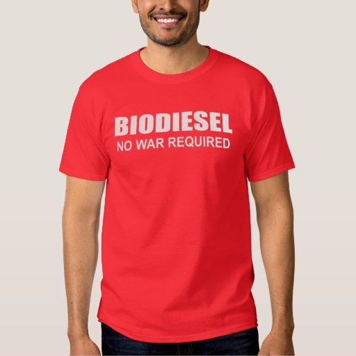 Biodiesel: Ninguna guerra requerida Playera