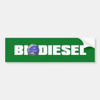 Biodiesel Pegatina Para Auto