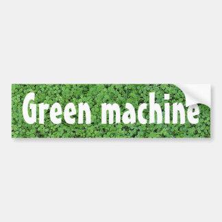 Biodiesel Powered Green Machine Bumper Sticker