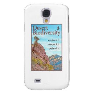 Biodiversidad del desierto funda para galaxy s4