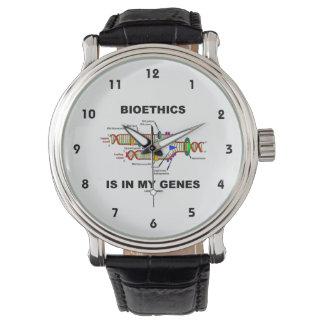 Bioethics Is In My Genes (DNA Replication) Wristwatch