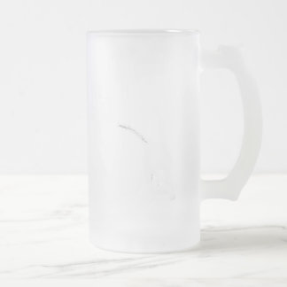 Biofuel Bouquet 16 Oz Frosted Glass Beer Mug