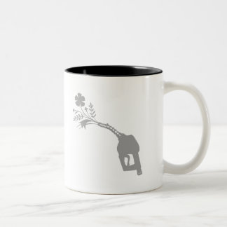 Biofuel Bouquet Two-Tone Coffee Mug