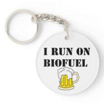 Biofuel funny keychain