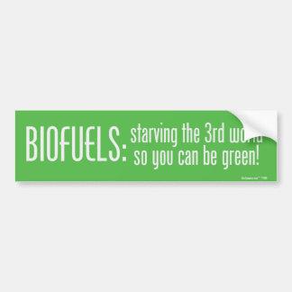 Biofuels Bumper Sticker
