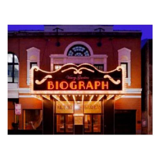 Biograph Theater Postcard