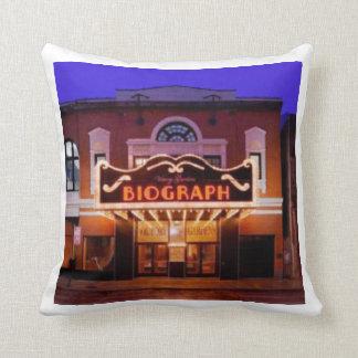 Biograph Theatre Throw Pillow