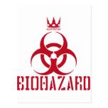 BIOHAZARD(赤) ポストカード