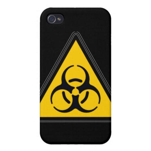 Biohazard 02 iPhone 4 cárcasa