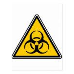 Biohazard 02 tarjeta postal