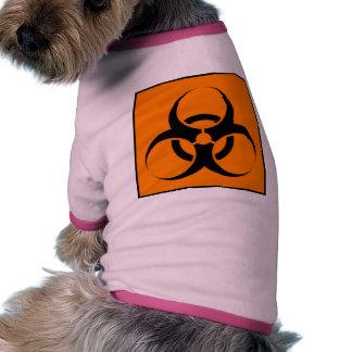 Biohazard 05 dog tee shirt