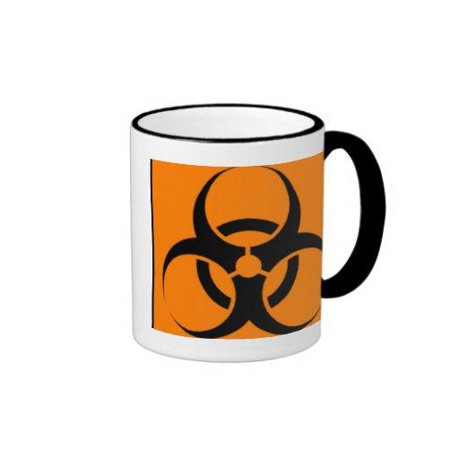 Biohazard 05 ringer coffee mug